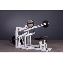 """Maszyna dźwigniowa na triceps wyciskanie w dół dźwigniowa z tulejami na krążki fi 50mm """"P"""""""