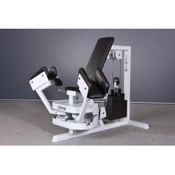 Maszyna na mięśnie przywodzicieli i odwodzicieli ud siedząc dwufunkcyjna