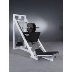 Suwnica 45% do wyciskania na mięśnie nóg z tuleją fi 50x650mm i stosem
