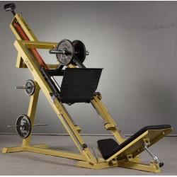 """Suwnica 45% do wyciskania na mięśnie nóg z tuleją fi 50x650mm układem hydraulicznym """"AM"""""""