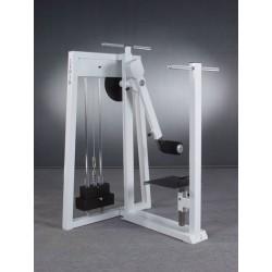 Maszyna na mięśnie pośladków oraz przywodzicieli i odwodzicieli ud stojąc z regulacją podestu