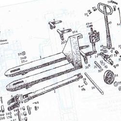 Remont, odbudowa wózków paletowych