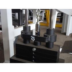 Nakładka na odważnik prowadzący stosu pozwalająca na zwiększenie-zmniejszenie wagi o 2,5kg